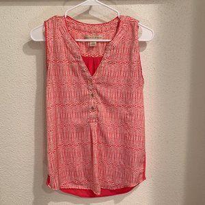 hanna & gracie sleeveless blouse